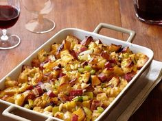 Get inspired with ideas and recipes for stuffing and dressing from Food Network Magazine.