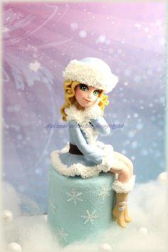 Anastasia - Cake by L'atelier de Natasel