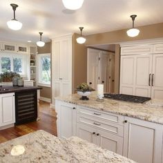 White Spring Granite Design, Pictures, Remodel, Decor and Ideas - page 4