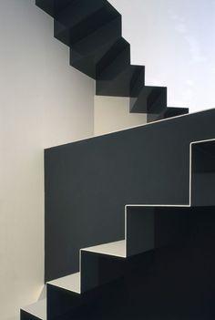grey stairs minimal