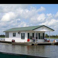 Cool house boat