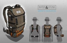 My senior capstone project at the University of Cincinnati (DAAP). This design earned the First Place IDSA award at the 2014 Daapworks show. This is a lifestyle fly fishing brand that specializes in backpacks with a focus on superior quality/functionalit…