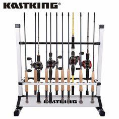 24 for all KastKing Rack /'em up Fishing Rods Holder 12 Rod Rack for Freshwater