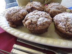 Cinnamon Streusel Muffins ~ Gluten Free and Dairy Free Recipes ~ Passionate Palate http://passionatepalate.wordpress.com
