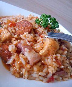 Jambalaya au poulet & chorizo
