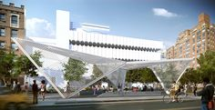 The NYC AIDs Memorial, by Brooklyn architecture firm Studio ai, will open early…