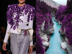 Couture Dresses Based on Sketches of Nature