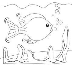 Planse de colorat cu pesti - Sfatulparintilor.ro Flip Flop Wreaths, Rainbow Fish, Coloring Pages, Snoopy, Kids Rugs, Tudor, Fictional Characters, Art, Painting On Fabric