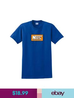fde10c3947820 T-Shirts Nos Nitrous Oxide Systems Red Logo Men s Black T-Shirt Size ...