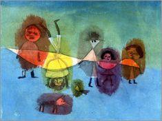 Paul Klee - Kleine Kinder, 1929