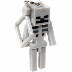 Amazon.com : Official Minecraft Exclusive SKELETON Toy Action Figure Hanger : Toys  Games