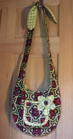 Fabric Hobo Shoulder Bag 119