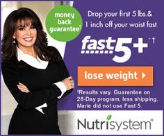 Click HERE to enjoy Nutrisystem's latest Special Offer -- Imagine all the weight you could lose when you get started right NOW!