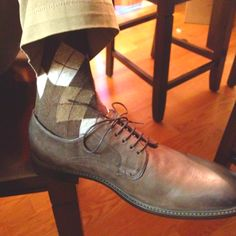 Men's argyle socks - like the shoe too.