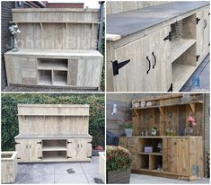 Garage Doors, Lounge, Bbq, Land, Outdoor Decor, Pallet, Decoration, Home Decor, Ideas