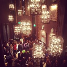 Birdcage Chandeliers | Ambiance | Event Lighting