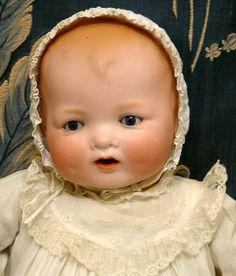 "MOST PRECIOUS & RARE 17"" BABY GLORIA All Original Antique Character Doll c1912!"