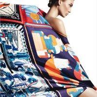 Karlie Kloss' Elegant Hermès Story for Harper's Bazaar Spain April 2013 Issue   Sassi Sam Girlie Gossip Files