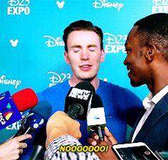 "favorite line {in a Marvel movie}? ---  Was it""language""?----"