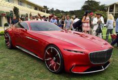 Vision Mercedes-Maybach 6  737 bhp 155 mph 0 - 62 mph 3.9