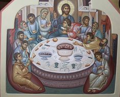 VK is the largest European social network with more than 100 million active users. Holy Thursday, Byzantine Icons, Last Supper, Eucharist, Orthodox Icons, Pictures To Draw, Fresco, Margarita, Jesus Christ