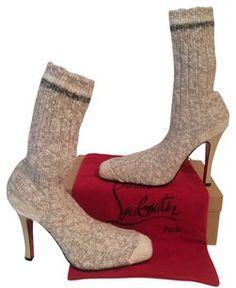 Christian Louboutin Grey Boots