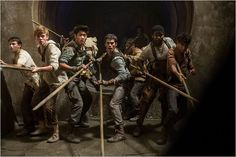 Le Labyrinthe : Photo Dylan O'Brien, Ki Hong Lee, Thomas Brodie-Sangster Maze Runner Thomas, Maze Runner 3, Maze Runner The Scorch, Maze Runner Movie, Maze Runner Series, Thomas Brodie Sangster, Minho, Hunger Games, Manga Anime