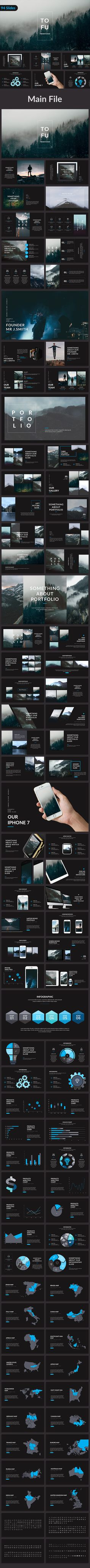 Creative Powerpoint Template  • Download ➝ https://graphicriver.net/item/tofu-creative-powerpoint-template/19544576?ref=pxcr