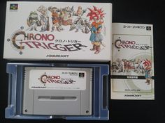 Chrono Trigger for Super Famicom (SNES Japan)
