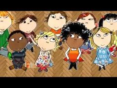 Charlie and Lola and her bestest friend Loty. These books are so fun and  effortlessly multicultural by Lauren Child, perfect