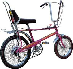 My Raleigh Chopper was red.