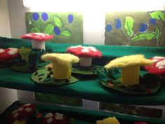Huovutus, sienet