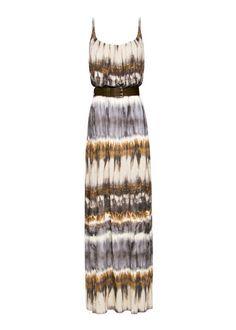 Lo étnico está más de moda que nunca. ¿Qué te parece este vestido largo de Mango? En nuestra web hay muchas más propuestas http://www.elle.es/moda/tendencias/estampados-tribales