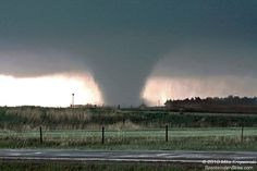 A Destructive Tornado Touches Down in by ScenicSurroundings, $25.00