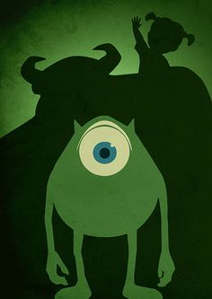 Pixar Movie Poster Series - Created byMoonPoster Series available for sale onEtsy.