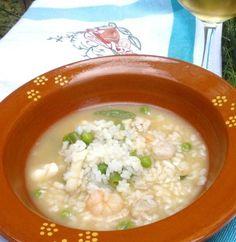 Arroz caldoso de pescado hecho en la thermomix. #recetas #thermomix #arroz