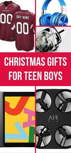 This Holiday Gift Guide is packed with great gifts for teenage boys. Not sure what Christmas gift ideas to buy for a teen boy? You'll find the best presents in this wish list. Gifts For Teen Boys, Christmas Gifts For Boys, Presents For Boys, Gifts For Teens, Christmas Time, Holiday Gift Guide, Holiday Gifts, Unique Gifts, Great Gifts