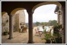Tuscan Inspired Outdoor Living - mediterranean - patio - Soledad Builders, LLC