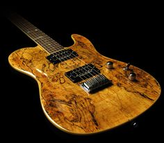 Spalted Maple Custom HH Telecaster