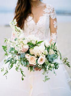 Soft Pastel Bridal Bouquet  Floral Design: Celsia Floral  Photography: Christie Graham