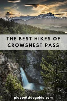 The Best Hikes of Crowsnest Pass, Alberta Places To Travel, Places To See, Travel Destinations, Vacation Places, Dream Vacations, Travel Local, Hiking Places, Alberta Travel, Banff Alberta