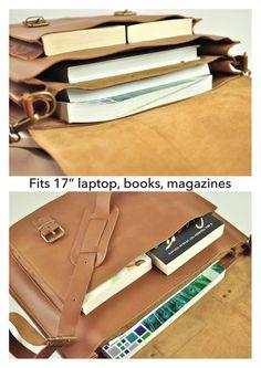 Premium XL leather satchel Messenger bag Shoulder bag | Etsy Briefcase Women, Leather Briefcase, Leather Satchel, Briefcases, Getting Wet, Laptop Bag, School Bags, Hermes Kelly, Timeless Fashion