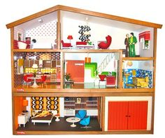 Lundby dollhouse. I had this growing up. it was the best doll house ever