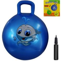 Space Hopper Ball: Blue, Diameter for Ages Pump Included (Hop Ball, Kangaroo Bouncer,… Sensory Toys For Kids, Kids Toys, Toddler Toys, Baby Toys, Sensory Integration, Presents For Kids, Bouncers, Color Box, Age 3
