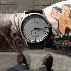 Matte Stainless Steel 958XLSL Watch by Skagen