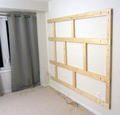 Want to make your bachelor pad look better? Learn how to build a floating wall TV stand in this DIY interior design guide. Tv Wall Decor, Diy Wall, Tv Wall Panel, Wall Tv Stand, Tv Wanddekor, Floating Entertainment Center, Fireplace Tv Wall, Interior Design Guide, Tv Wall Design