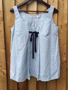 Cabbages And Roses Blue/White Striped Top UK: 10 EU EU: 38 US: 6 *BNWOT*