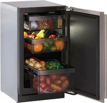 compact refrigerator with full extension drawer bins - Google Search