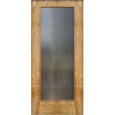 Crestview Doors (Austin): Full Lite Door.  Reeded glass.
