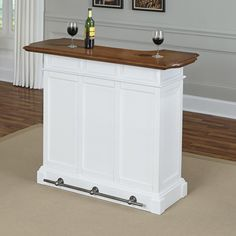 Home Styles Americana Home Bar & Reviews | Wayfair